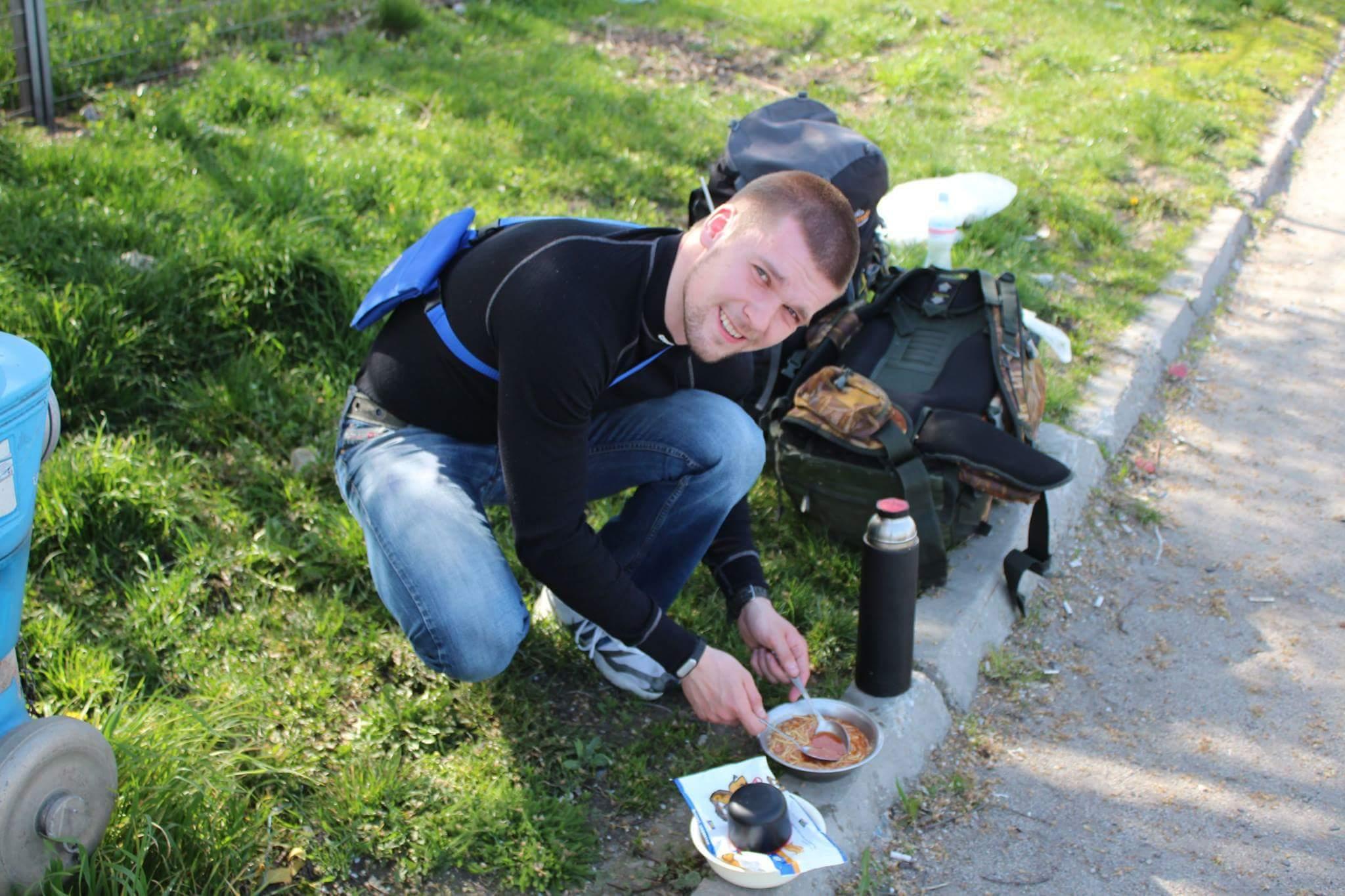 Руслан Гайдай - турист та мандрівник!