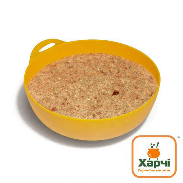 Чіа-пудинг зі шматочками журавлини, Харчі ТМ