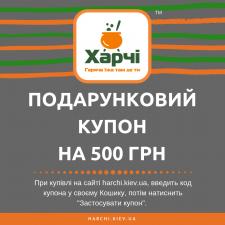 Подарунковий купон на 500 грн