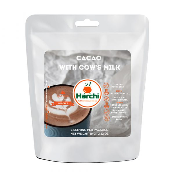 Cacao with cows milk