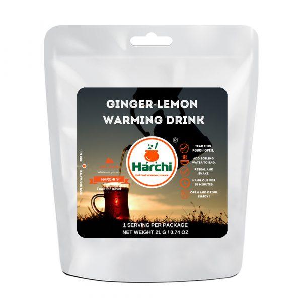 Ginger lemon warming drink