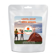 Lentil soup with spices