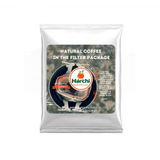 Natural coffee in filter package